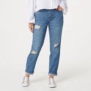Rachel Hollis Ltd. Lived In Boyfriend Jeans Plus